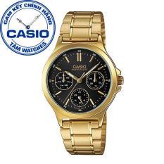 Đồng hồ nữ dây thép không gỉ Casio Standard Anh Khuê LTP-V300G-1AUDF