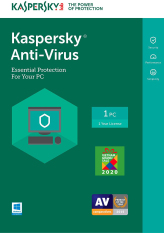 Kaspersky Antivirus 1 year 1 PC