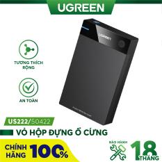 Vỏ hộp đựng ổ cứng 3.5/2.5 inch SATA/USB 3.0 hỗ trợ 10TB dài 30-50cm UGREEN US222 – Hàng phân phối chính hãng – Bảo hành 18 tháng