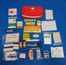Túi y tế cho dã ngoại cỡ 23 cm và 23 cơ số vật tư y tế
