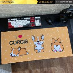 [80x30x0.3 – Nhiều mẫu] Lót chuột, bàn di chuột cute dễ thương