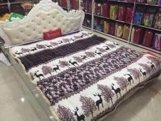 Chăn lông cừu Cao Cấp – Siêu ấm áp 2m x 2m3