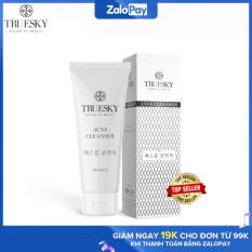 Sữa rửa mặt than hoạt tính Truesky dạng tạo bọt giúp làm sạch da và ngừa mụn chính hãng 60ml – Ance Cleanser