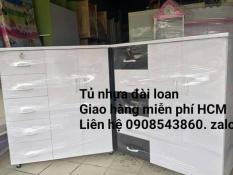 Tủ nhựa đài loan