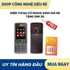 Điện thoại cổ độc NOKIA 6300 giá rẻ tặng sim 3g