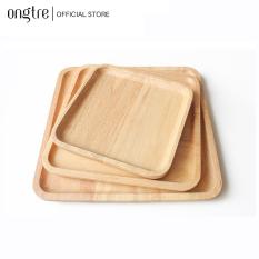 Khay gỗ Tần Bì nguyên khối hình tròn, chữ nhật, vuông… Nhiều kích thước (Hàng VN) | ongtre® (Vietnam)