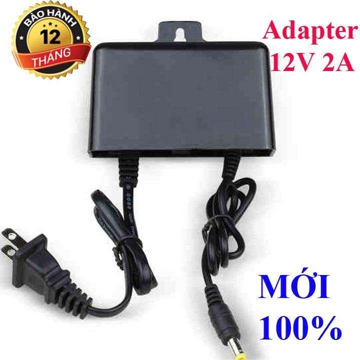 adapter 12v-2a , nguồn 12v2a hàng mới - adapter 12v 2a