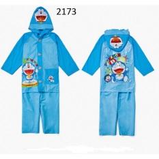 Áo mưa trẻ em hình doremon hoạt hình ngộ nghĩnh