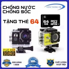 [ TẶNG THẺ NHỚ 64GB ] Camera hành trình 2.0 FULL HD 1080P Cam A9 LƯU TRỮ 64GB – Camera hành trình chống nước – camera hành trình xe máy phượt