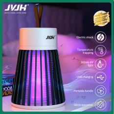 JVJH Đèn Diệt Muỗi Điện Có Thể Sạc Lại Fly Bug Zapper Đèn LED Bẫy Diệt Côn Trùng Sâu Bọ ít ồn JD145