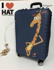 Vỏ bọc vali, áo bọc vali, túi bọc vali Hươu cao cổ Size M-L