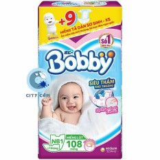 Miếng lót sơ sinh Bobby NB108