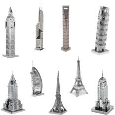 Mô Hình Kim Loại 3D Lắp Ráp Công Trình Kiến Trúc Toà Nhà