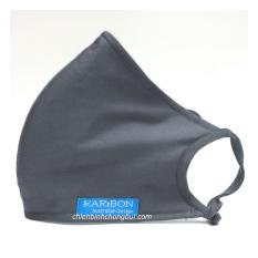 Khẩu trang vải Karibon Cotton 8 lớp có than hoạt tính lọc bụi mịn, khả năng lọc bụi lên tới 99%, giặt và sử dụng nhiều lần