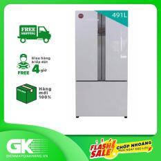 TRẢ GÓP 0% – Tủ lạnh Panasonic inverter 491 lít NR-CY558GMV2- Bảo hành 2 năm