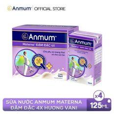 6 Lốc Sữa nước Anmum Materna Concentrate Đậm Đặc 4X 125ml x 4 hộp