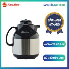 Phích Pha trà 1 Lít RD 1055 ST1.E Chính hãng Rạng Đông Khả năng giữ nhiệt lâu Ruột thủy tinh chất lượng cao Thiết kế tinh tế sang trọng
