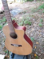 Đàn Guitar Acoustic TD-80KBD có ty chỉnh cong cần