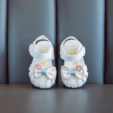 giày sandal tập đi cho bé gái Ankids 529
