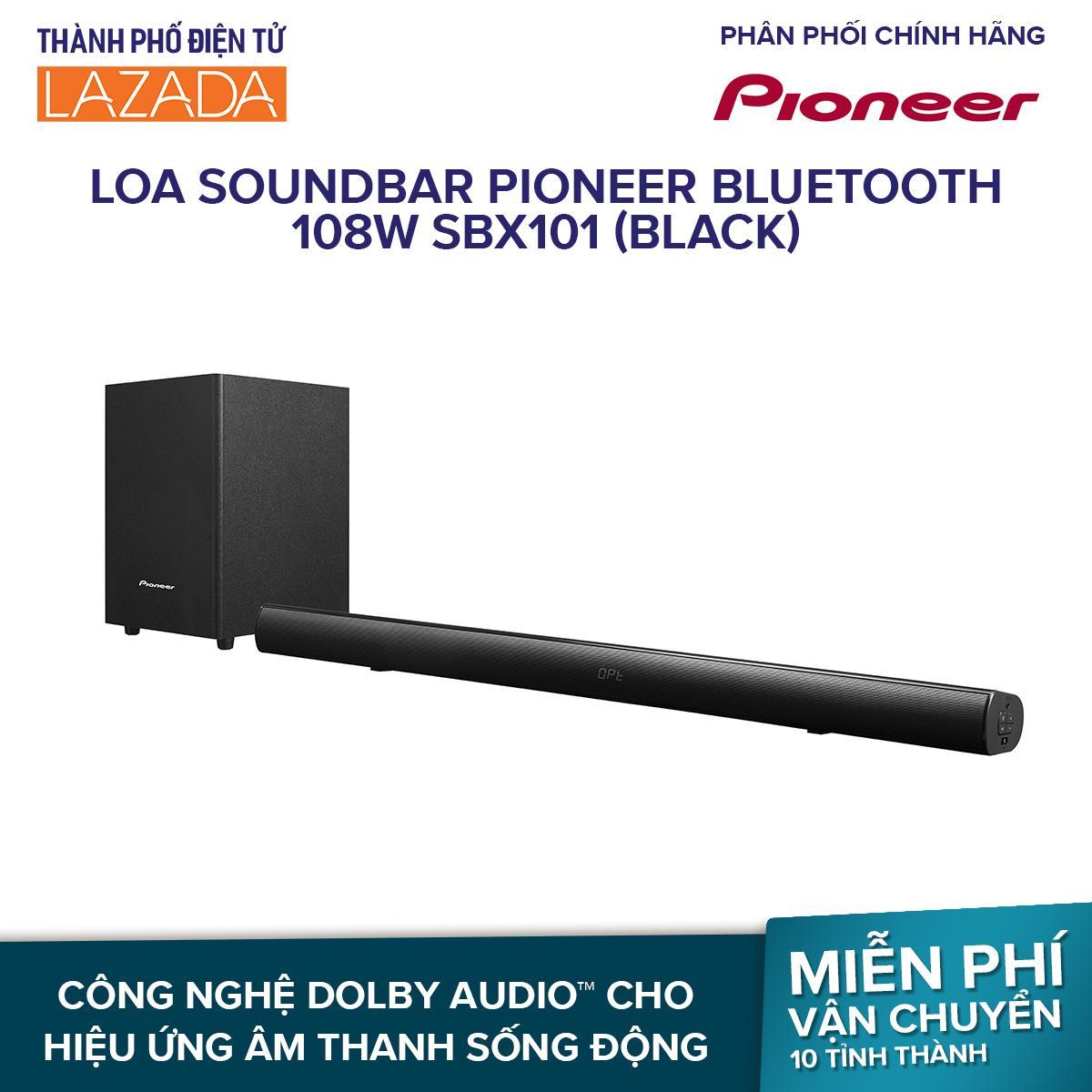 Loa Soundbar Pioneer Bluetooth 108W SBX101 (Black)