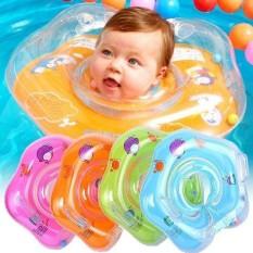 Phao bơi đỡ cổ chống lật an toàn cho bé trai bé gái, có nhiều màu -F7