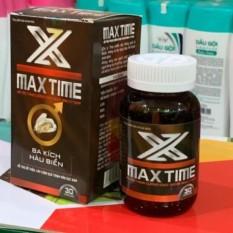 Max Time Ba kích, Hàu biển Hỗ trợ tăng cường chức năng sinh lý nam (hiệu quả)