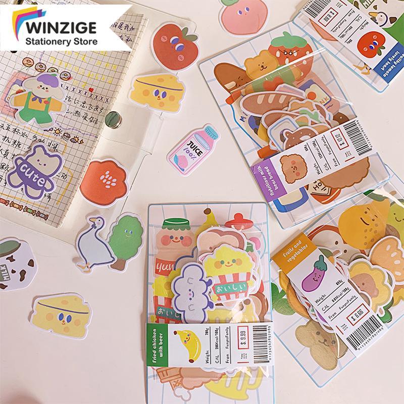 Winzige Bộ 20 miếng dán hình hoạt hình dễ thương chống nước trang trí sổ lưu niệm điện thoại phong...