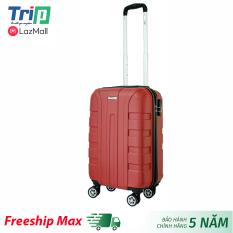 [Freeship 40K] Vali nhựa TRIP P12 Size 20inch/ Vali TRIP size xách tay lên cabin máy bay