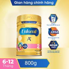 Home Delivery-Sữa Enfamil A+ 2 cho trẻ từ 6-12 tháng tuổii (830g)
