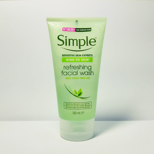 Sữa Rửa Mặt Dạng Gel – Simple Kind To Skin Refreshing Facial Wash Gel (150ml)