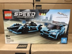 Lego Speed Champions -76898-Formula E Panasonic Jaguar Racing GEN2 car & Jaguar I-PACE eTROPHY Race Cars-565 chi tiết