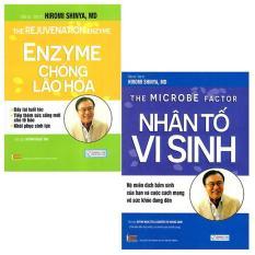 Combo 2 cuốn Nhân tố vi sinh – Enzyme chống lão hóa