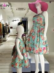 Đầm Đôi Mẹ và Bé dạo phố, dự tiệc, shopping Xuất khẩu. (Giá 1 san phẩm)