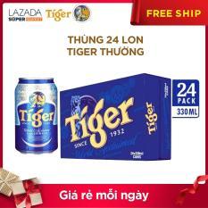 Thùng 24 lon Tiger thường