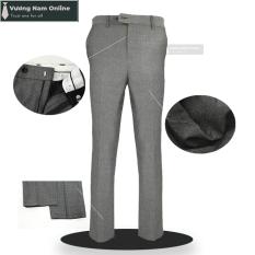 Quần tây nam công sở, quần âu nam chất vải cotton poly