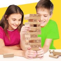 Bộ đồ chơi rút gỗ số NumberTower