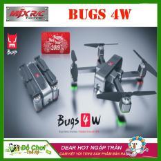 FLYCAM MJX BUGS 4W , GẤP GỌN CAMERA 2K CẢM BIẾN BỤNG , TẦM BAY 1,6KM, THỜI LƯỢNG BAY LÊN ĐẾN 22 PHÚT, ĐỘNG CƠ KHÔNG CHỔI THAN MẠNH MẼ ( bugs 5w, s70w, sjrc f11, jjpro x5, jjpro x7, bugs 3 pro, bugs 2se)