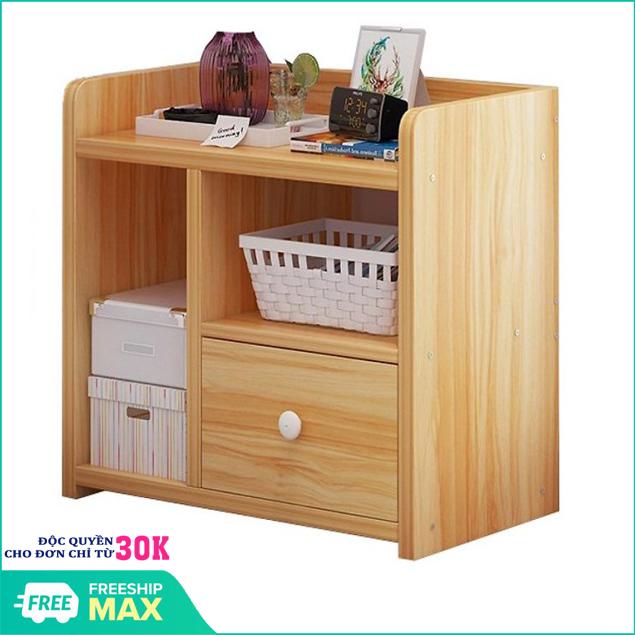 Tủ Gỗ Đầu Giường 3 Ngăn -Kệ để đồ – Tủ đầu giường – Tủ gỗ để đồ – Tủ gỗ đầu giường 3 ngăn – Kệ đầu giường – kệ gỗ 3 ngăn cao cấp