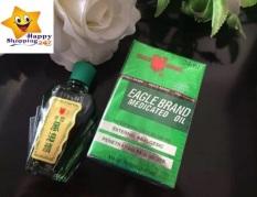 Combo 4 chai Dầu gió xanh Mỹ 2 nắp Eagle Brand Medicated Oil hàng thật thơm lâu giảm đau nhức