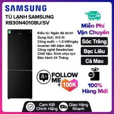 Tủ lạnh Samsung Inverter 310 lít RB30N4010BU/SV Mới 2020 Tủ lạnh Samsung Inverter 310 lít RB30N4010BU/SV Mới 2020