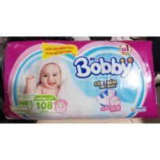 108 Miếng Bỉm dán Bobby newborn – Bỉm sơ sinh cho trẻ <5kg – Hàng Việt Nam