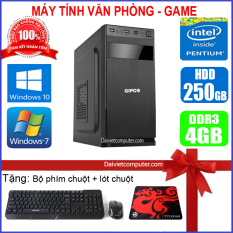 Case máy tính để bàn CPU Dual Core E7/8xxx / Core i5-2320 / Ram 4GB / HDD 250GB-500GB/SSD 120G-240GB + [QUÀ TẶNG: Bộ phím chuột không dây + bàn di chuột] VPI52 – LDV