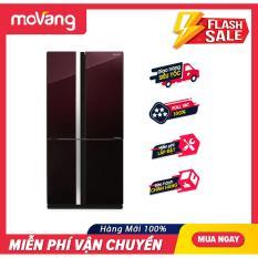 [TRẢ GÓP 0%] Tủ lạnh Sharp Inverter 678 lít SJ-FX688VG-RD