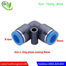 [Bịch 5 cái] Cút góc nối ống 8mm phun sương