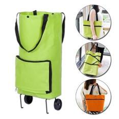 Túi xách gắn bánh xe kéo, túi đi chợ có bánh xe, túi có bánh xe kéo dùng đi chợ, siêu thị – xe kéo dạng túi có bánh xe kéo