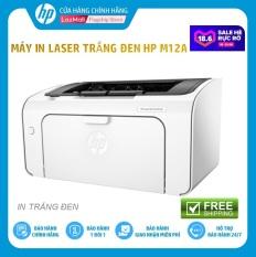 Máy in HP LaserJet Pro M12a Printer (In trắng đen) T0L45A) – Hàng Chính Hãng