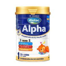 Sữa bột Dielac Alpha 1 – 900g – HSD 12/2021