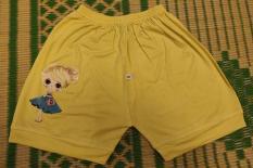 QUẦN SHORT BÉ GÁI ,Combo 5 quần đùi SIÊU ĐẸP cho bé từ 3 đến 6 tuổi ,100% COTTON