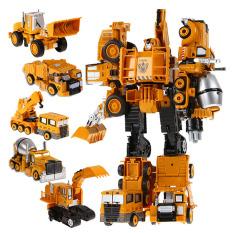 ROBOT Biến hình Bằng sắt – 5in1 Trans Truck
