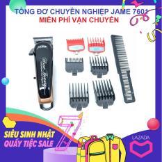 Tông đơ chuyên nghiệp Jame 7601 ( Đen )